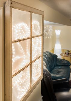 A FAUX window for a dark room. Refurbished to by BasementWindow