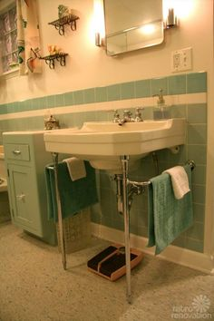 Vintage Crane Laundry Sink : ... on Pinterest  Art deco bathroom, Vintage bathrooms and Vinyl flooring