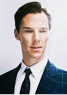 Benedict gif, his staring into your soul.