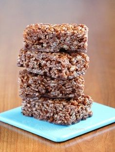 Marshmallow, chocolate, crisps and now hazelnut create the best of all four worlds in the form of these Chocolate Nutella Rice Crispy Treats.