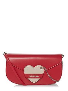 Stylish Love Moschino handbagQuality artificial leatherDetachable shoulder…