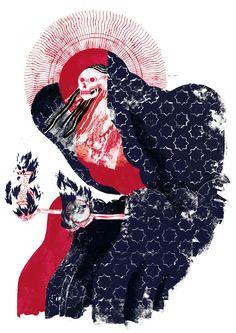 Juxtapoz Magazine - Illustrations by Margherita Morotti