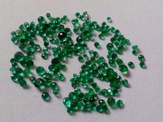 5.35 Cts Natural Emerald Loose Gemstone Brazilian Round Shape Ring Size  #Unbranded