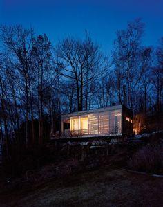 Sunset Cabin: Refúgio de Madeira e Vidro - Wood and Glass Shelter | Arq & Eng Mag