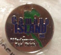 Camano Island WA Windemwre Real Estate Silver Tone Pinback Pin