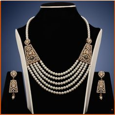 Online Shopping for Design no. 10b.2030....Rs. 2500 | Necklaces | Unique Indian Products by chaahat fashion jewellery - MCHAA36606340810