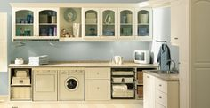 Laundry Room Cabinets Spruce Up Chores - Closet Factory