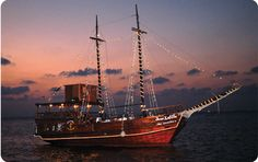 Jean Lafitte Pirate Ship Snorkel Tour, 44 dollars, 11-2:45 daily, includes lunch/drinks Cozumel Mexico, Mexico Vacation, Cruise Vacation, Vacation Rentals, Cozumel Excursions, Shore Excursions, Real Pirate Ships, Pirates Dinner, Pirate Cruise