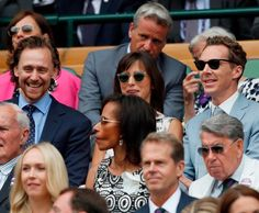 Tom Hiddleston attends Men's Final Day at the Wimbledon 2019 Tennis Championships on July Credit on the image. Thomas William Hiddleston, Tom Hiddleston Loki, Stephen Hawking, Keira Knightley, Wimbledon, Benedict Cumberbatch, Frankenstein, Sherlock, Avengers