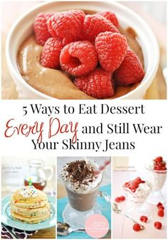 There seems to be a pretty widespread misunderstanding that there's something wrong with eating dessert every day. That couldn't be further from the truth! Dessert makes people happy! So what if we told you that you didn't have to give up your happy-making treats to be able to fit into your skinny jeans?! There are lots of ways to fit in yummy sweets and treats (even daily) without giving up your waistline. Read on as eBay shares how to enjoy your dessert and still wear skinny jeans!