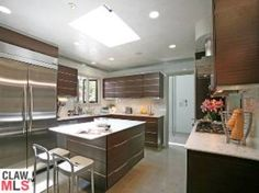 Nicole Kidman and Keith Urban's kitchen in their Beverly Hills Home