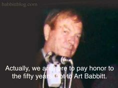 Chuck Jones Roasts Art Babbitt