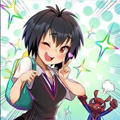 Penny Parker and Spider Ham Marvel Girls, Marvel Art, Marvel Dc Comics, Marvel Heroes, Neko Girl, Spiderman Kunst, Spiderman Spider, Spiderman Anime, Manga Anime