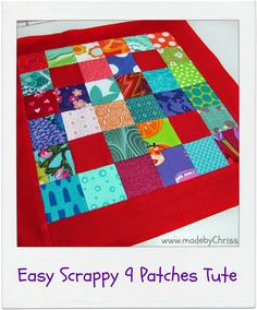 made by ChrissieD Sewing Blogs, Sewing Basics, Basic Sewing, Quilting Tutorials, Sewing Tutorials, Nine Patch, Cotton Quilts, Quilt Blocks, Helpful Hints