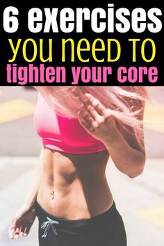 Lose weight and get rid of belly fat with these exercises to tighten your core. No more excuses for you because you do these workouts in 20 minutes per day. Fitness Tips For Men, Fitness Workout For Women, Health And Fitness Tips, Running Training Programs, Running Tips, Workout Programs, Commercial Break Workout, Lose Weight In A Week, Losing Weight