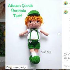 Crochet Baby, Free Pattern, Teddy Bear, Christmas Ornaments, Toys, Holiday Decor, Creative, Animals, Design