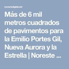Más de 6 mil metros cuadrados de pavimentos para la Emilio Portes Gil, Nueva Aurora y la Estrella | Noreste  Digital