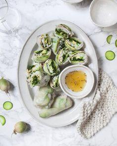Rouleaux de printemps au kale et radis pour 4 personnes - Recettes Elle à Table