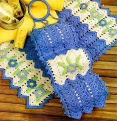 jogo em croche para banheiro em croche com receita