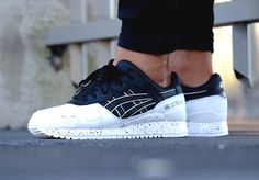 Asics Gel Lyte 3 'Oreo Pack' Black White Nike Shoes, Shoe Boots, Shoes Sneakers, White Sneakers, Sneakers Mode, Sneakers Fashion, Herren Style, Black And White Shoes, Mens Trainers