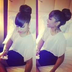 You Can Never Go Wrong With This Hairstyle !