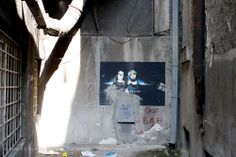 Slika u dvorištu / Topličin venac #BeogradskiGrafiti #StreetArt #Graffiti #Beograd #Belgrade #Grafiti