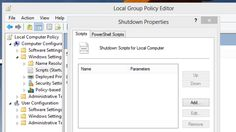 Use Group Policy Editor to Run Scripts When Shutting Down Your PC (Windows)
