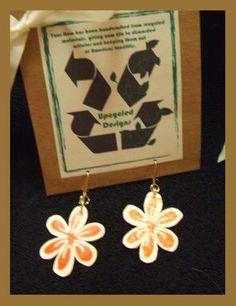 Fused Plastic Bag Earrings