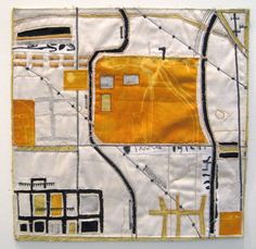 1000 images about art quilts map quilts on pinterest for Hand thread painting tutorial