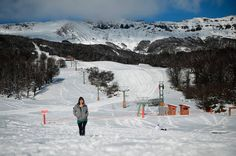 Primeras imágenes luego de la gran nevada y previas a la apertura de Chapelco 2013