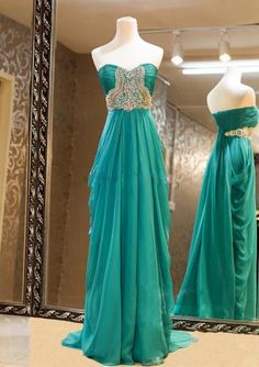 Gorgeous Sweetheart Sweep Train Beaded Prom Dresses, Evening Dresses, Formal Dresses from Sweetheart Girl Evening Dress Long, Cheap Evening Dresses, Cheap Prom Dresses, Homecoming Dresses, Bridesmaid Dresses, Formal Dresses, Formal Prom, Dresses 2014, Dresses Online