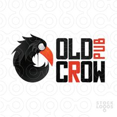 """Logo represents crow's head in the shape of letter C - first letter of """"crow""""…"""