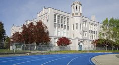 Heritage Vancouver Top 10 Endangered Sites 2015 | No. 1: Schools: Point Grey Secondary (1929) Vancouver Architecture, Secondary School, British Columbia, Schools, Mansions, History, House Styles, Grey, Book