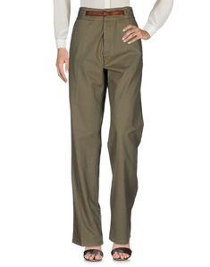 GOLDEN GOOSE DELUXE BRAND Women's Casual pants Military green M INT