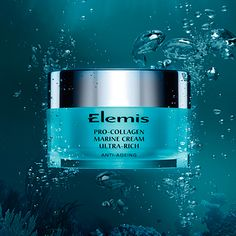 Elemis Pro-Collagen Marine Cream Ultra-Rich. Specially formulated for dry or dehydrated skin.  http://bit.ly/VCHcbR
