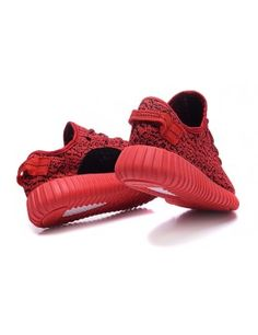 finest selection dda7e f22db FEMME ADIDAS YEEZY BOOST 350 ROUGE CHAUSSURES