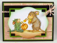 Suzz's Stamping Spot: Trick or Cheese? Image ©Ellen Jareckie and @Allison House!-Mouse Designs®  by #Stampendous