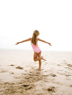 I need a photo of Ella like this the next time we go to the beach.