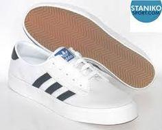 Adidas Kiel hombre 's skate zapatos blanco / negro zapatos de navegar, Kiel