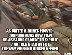 """The airlines purposely overbook and this is what happens if you happen to have been assigned the same seat as a """"higher priority"""" guy. Oh, and ladies, don't wear leggings because you might be refused service!"""