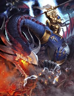 http://wellofeternitypl.blogspot.com Age of Sigmar Artwork | Stormcast Eternals | Stardragon Artwork #artwork #art #aos #warhammer #ageofsigmar #sigmar #arts #artworks #gw #gamesworkshop #wellofeternity #wargaming
