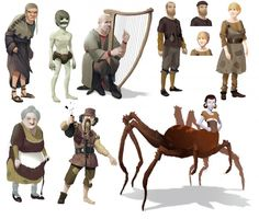 Brothers: A Tale of Two Sons Concept Art by Bradley Wright --- http://conceptartworld.com/?p=26376
