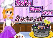 Sofia New Year Special Cake