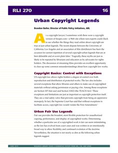 Urban Copyright Legends #copyright #blogging