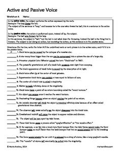 Worksheets 1000 Active Passive Sentences 1000 images about active passive voice on pinterest help students learn to identify the and while reading informational text black