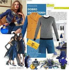 """""""central blue"""" by aaliyah on Polyvore"""