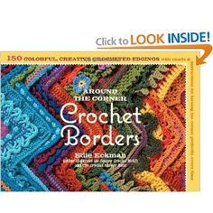 Amazing book!  Some of the borders would make fun scarves.