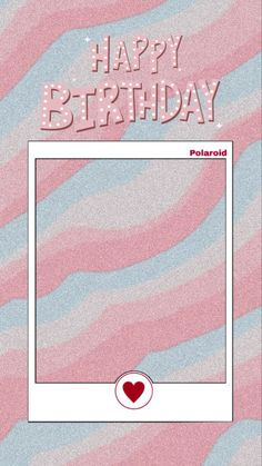 #template #happy #birthday #wishes #templatesinstagram #instagramstories #pink Happy Birthday Template, Happy Birthday Frame, Happy Birthday Wallpaper, Birthday Frames, Birthday Wishes, Creative Instagram Photo Ideas, Instagram Photo Editing, Instagram Story Ideas, Birthday Captions Instagram