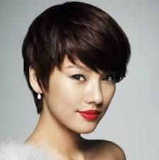 Image result for short haircuts for asian women