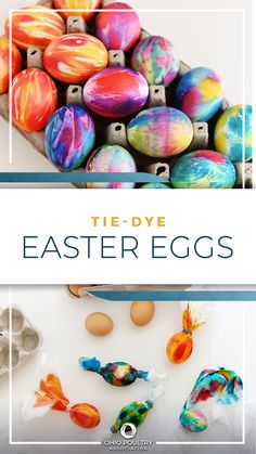 Put your own spin on the traditional pastel Easter palette with bright, bold Tie-Dye Easter Eggs!